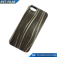 mobile leather bamboo phone case for Iphone 7