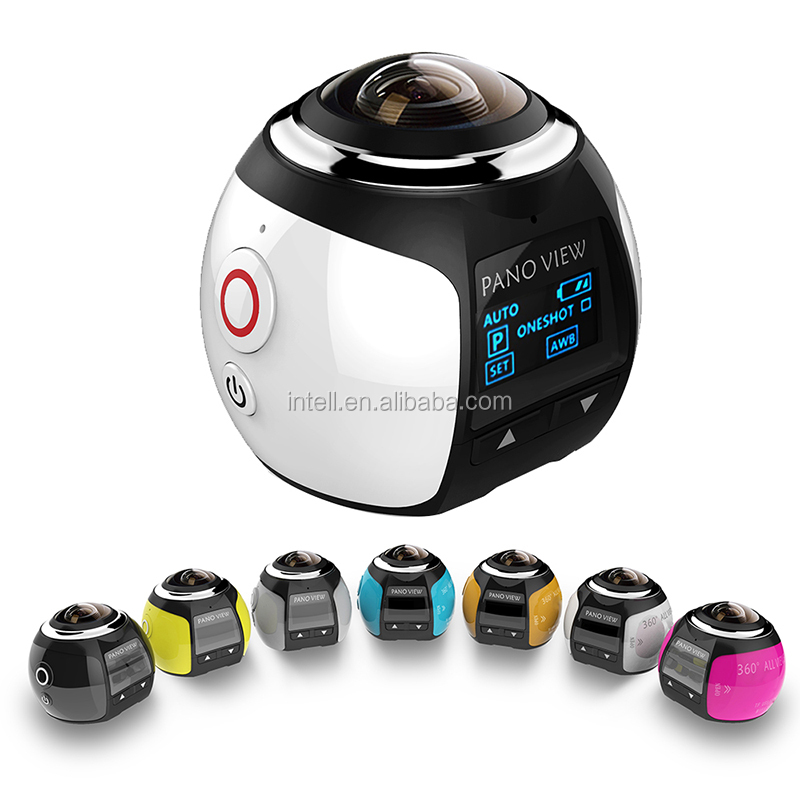 2016 The Best Seller V1 panoramic camera 360 Mini Camera 360 Degree Sports with 2448*2448 30fps