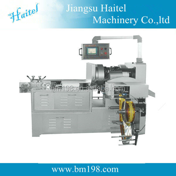 New design automatic toffee sugar cutting and double twisting packing machine