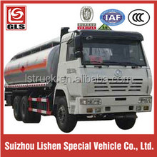 20-25cbm capacity 6X4 Shacman Heavy truck Fuel Bowser truck for sale