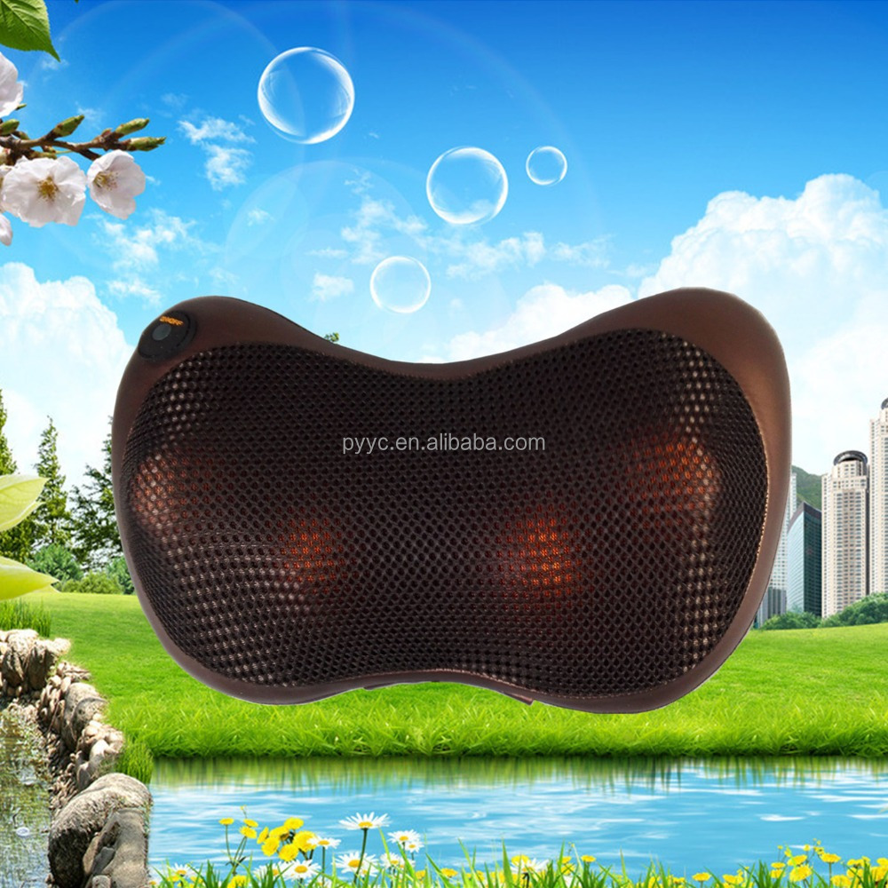 Car & Home Massage Pillow & Cushion with Heat Shiatsu Massage Pillow Electric Massage Pillow