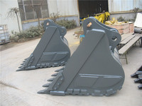 utility equipment Hyundai R250 excavator heavy rock digging bucket for sale