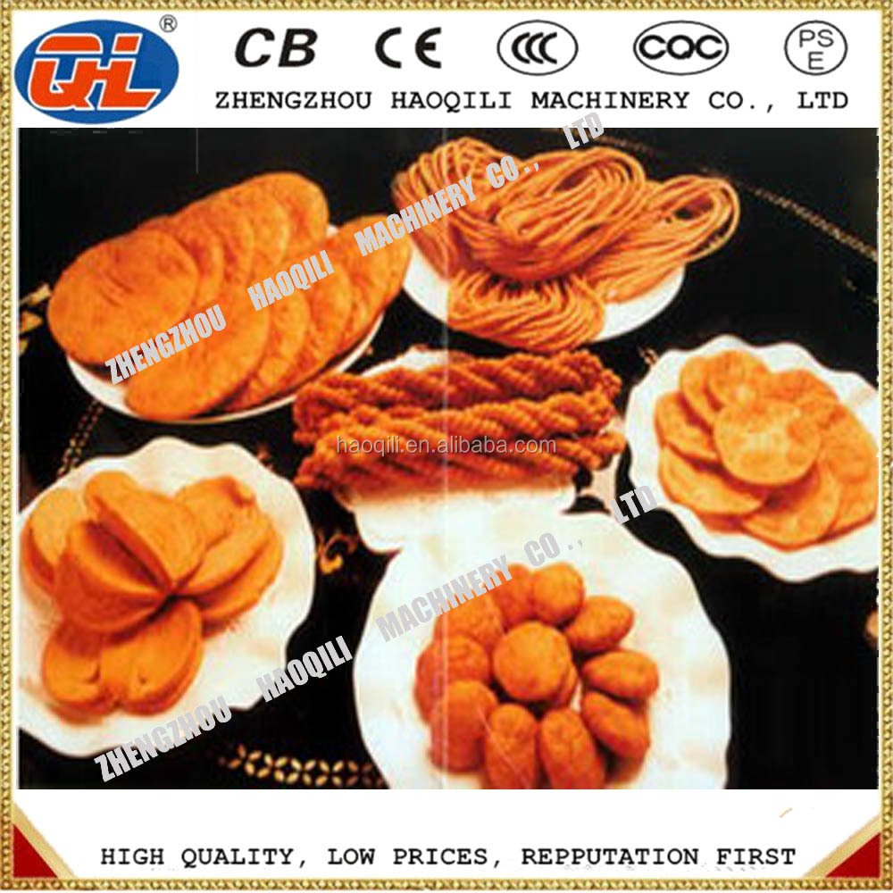 Semi-automatic fried snack food assemble machine | bugles chips equipment | fried snack chips