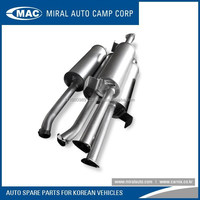 All kinds of Muffler Assy for Korean Vehicles