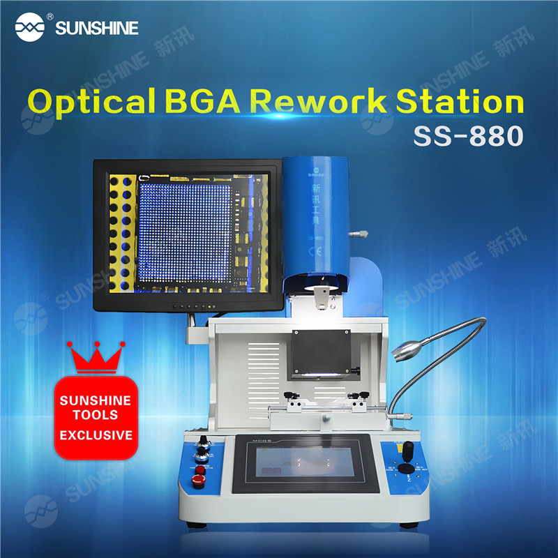 Factory Price Automatic Optical Bga Rework Station For Laptop Motherboard