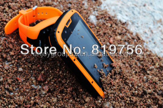 Hot selling S09 rugged smart phone IP68 NFC Walkie-talkie made in china 3g mobile phone