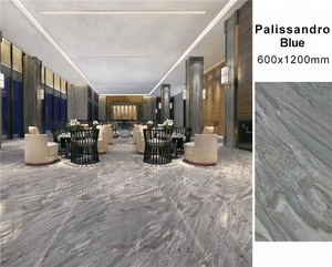MOREROOM STONE Commercial Big Size Palissandro Blue Marble Look Porcelain Flooring Tile