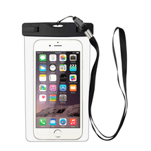 FREE SAMPLE Swimming Universal PVC IPX8 Certification Waterproof Phone Pouch