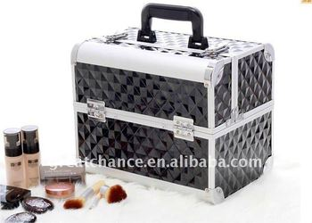 PROFESSIONAL ALUMINIUM BEAUTY COSMETIC MAKEUP CASE BOX(XY-256)