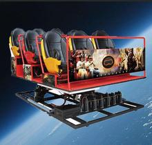 Interaction virtual reality 5d cinema equipment 12d 7d rider truck cinema projector cabin