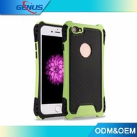 Wholesale TPU+PC Shockproof Protective Cover Phone Case For iphone 7 Case
