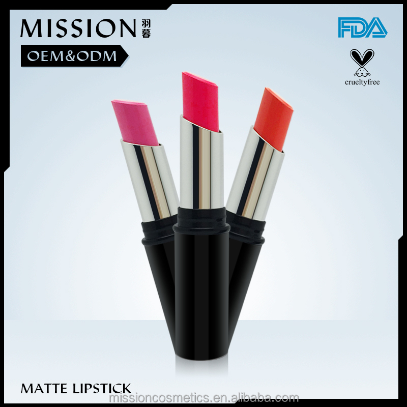Manufacturer OEM Lipstick Vivid Matte Waterproof Lipstick with No label