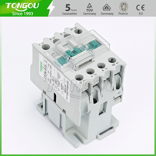 Original design 3P 25A 12V 24V 36V 42V coil magnetic AC contactor with good quality