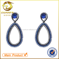 jewelry manufacturer china ladies earrings designs pictures drop aaa zircon earrings