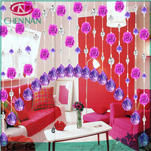 wholesale Crystal luxury shower curtain