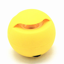 Mini colorful light portable wireless blue tooth speaker ball shape cute speaker