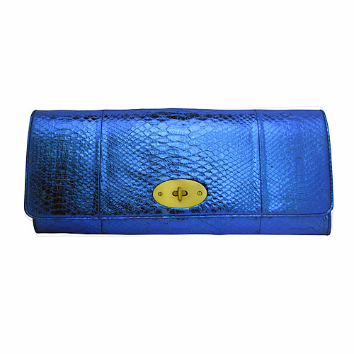 Exotic Skin Clutch Bag