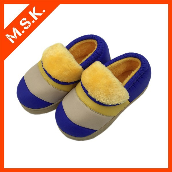 High quality leather winter kids fur boots