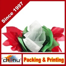 Red, Green & White Christmas Tissue Paper (510048)
