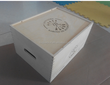 Accept Custom Order and Handmade Feature Cheap Six Bottles Wooden Wine Case/box/crate