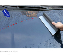 China manufacturer custom family use / car cleaning rubber silicone scraper water blade / silica cleaning squeegee kit