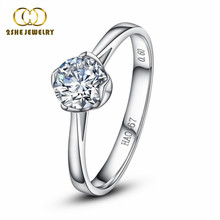 Hot sale single stone ring designs