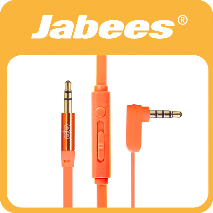 Electronic distributors Jabees audio video cable with Mic and Remote