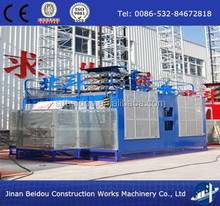 Safe Rack and pinion Construction Hoist Elevator for both material and human