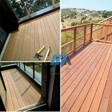 teak wood plastic composite wpc pvc decking interlocking wood plastic composite decking