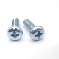 Oem Hardware Material M10 Zinc Plated Stainless Steel Metal Roofing Micro Lead M2 Thumb Screw Types Of Screws Pictures