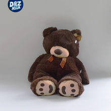 Big belly stuffed plush bear brand custom high-end