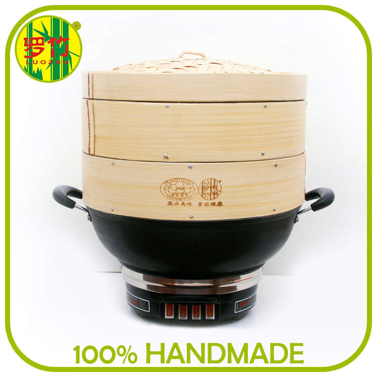 Chinese Restaurant Electric Dumpling Steamer In Various Size
