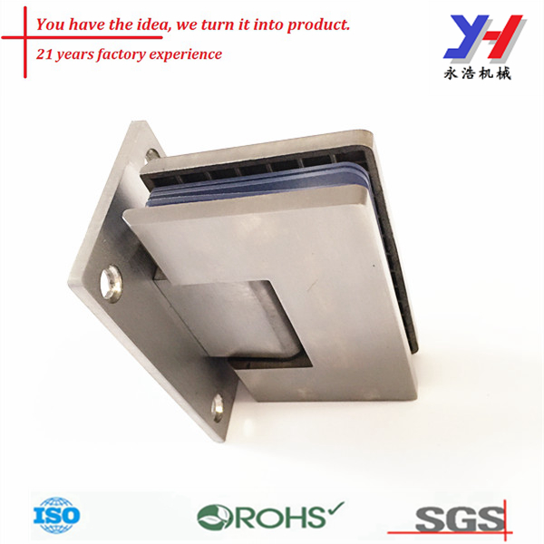 OEM customize stamping part and glass shower door pivot hinge,furniture hardware