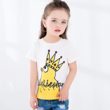 boys and girls 100% Cotton custom t-shirt for kids wholesale striped t-shirt