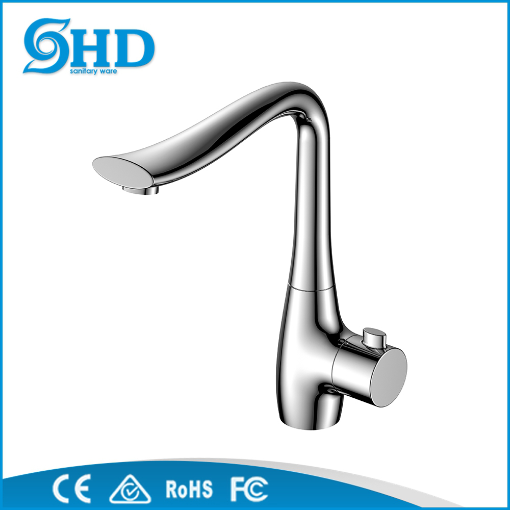 Popular Brass body kitchen mixer tap, triangle faucet india SH-32114