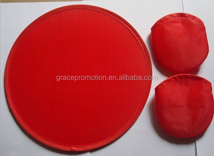 Manufacture direct supply collapsible nylon frisbee