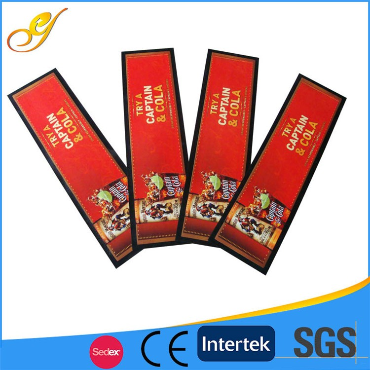 Private Label PVC Custom Rubber Bar Mats Wholesale for Beer Counter