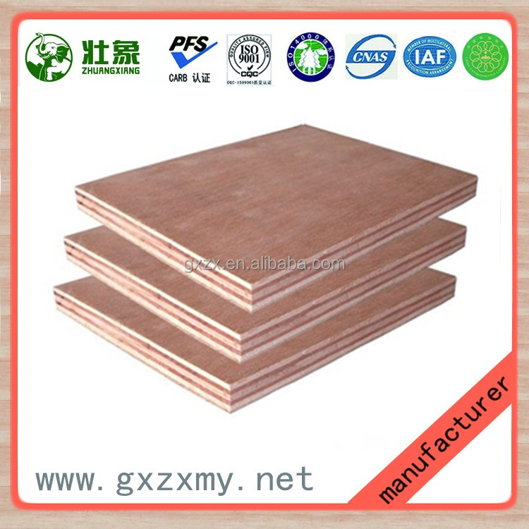 Small Size Plywood / 2mm Plywood of Door Skin