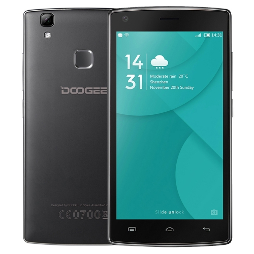 Original free sample DOOGEE X5 MAX Pro 16GB Network: 4G smart phone cell phone mobile phone