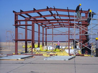steel structure warehouse/building for car parking system