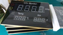 Indoor 388*288mm 3 in 1 Portable Temperature Humidity Data Logger Wall hanging CO2 Meter CO2 monitor
