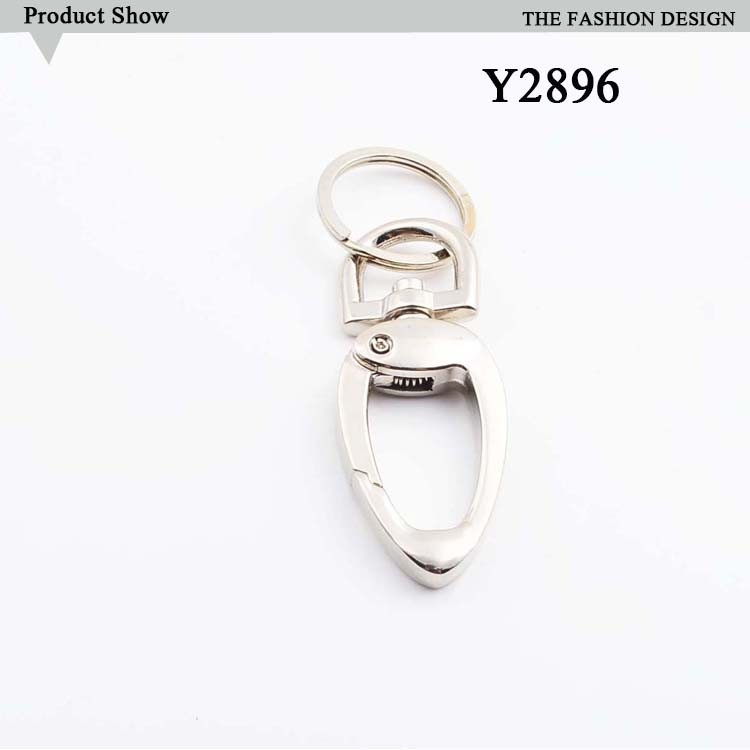 Customize classic swive key chain snap hook for bag accessories