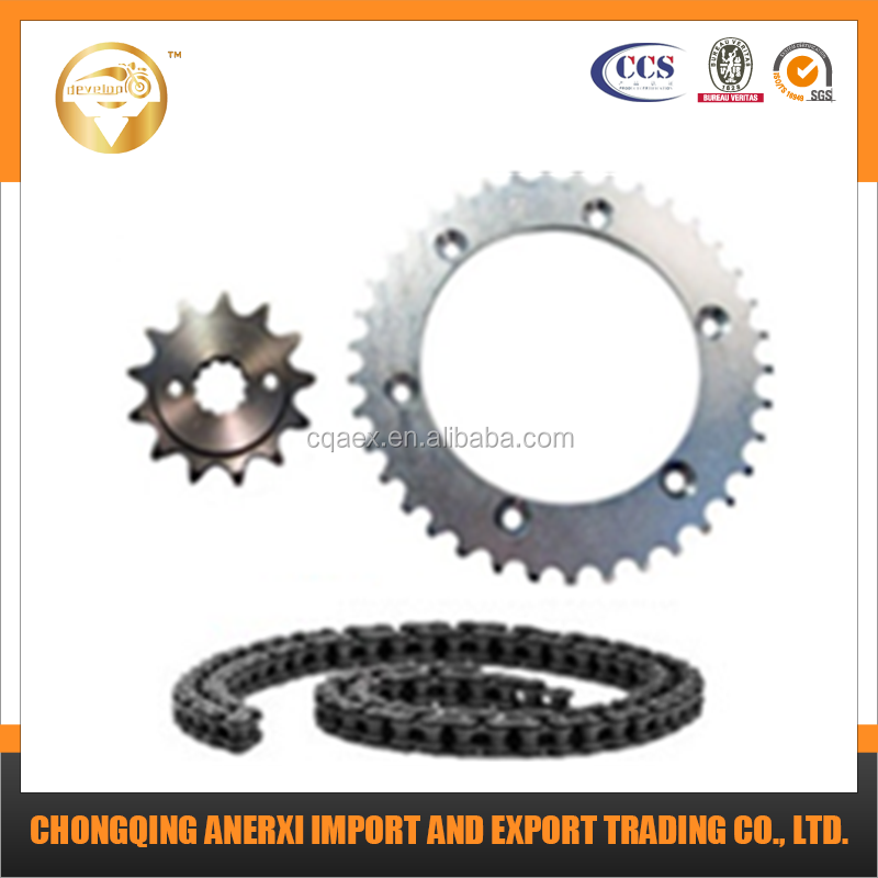 Best Price and High Quality Chain Sprocket Kit for 428H-116L 43Z-16Z Motorcycle Parts