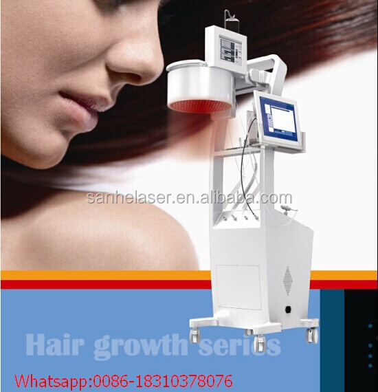 2015 LLLT 650nm diode laser haircare hair regrowth anti hair loss treatment alopecia
