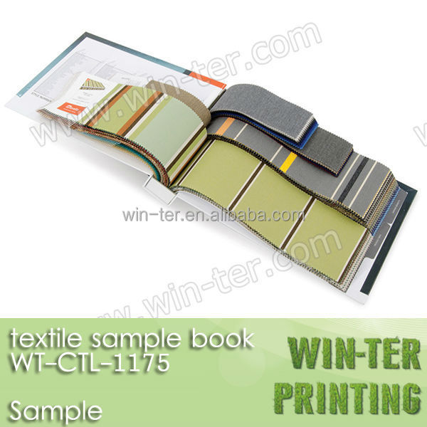 WT-CTL-1175 Fabric swatch book