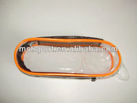clear plastic zipper case for swimming goggles