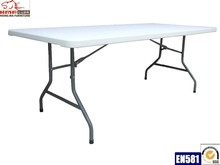 6 feet regular folding plastic table