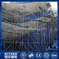 Competitive price for tunnels ringlock scaffold equipment for construction