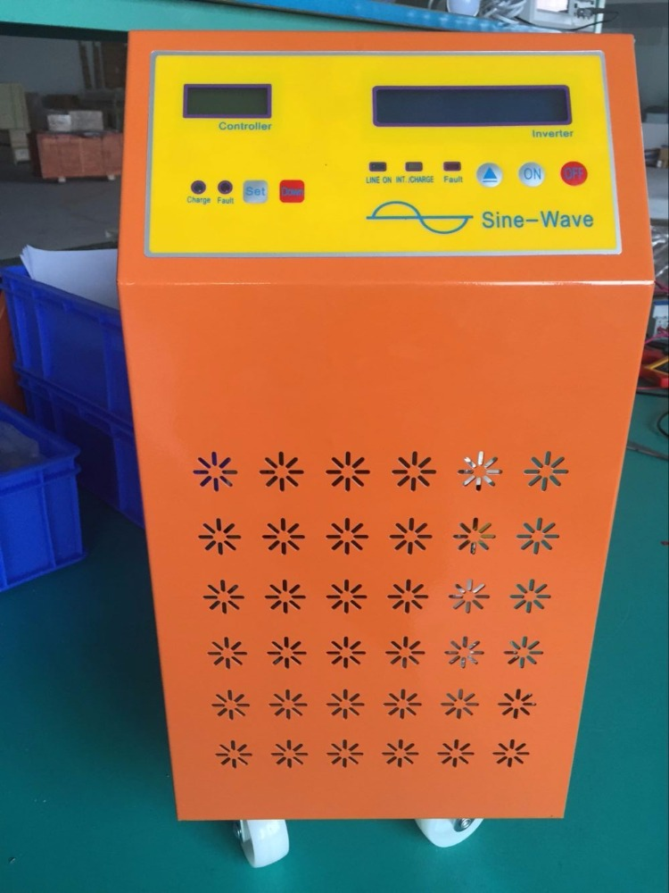 10kw solar inverter hybrid solar inverter for home system pure sine wave inverter