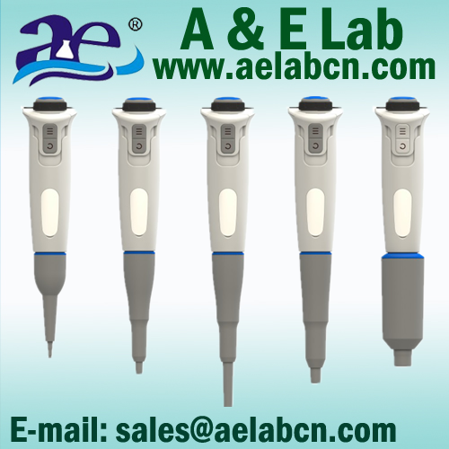 A&E Lab New Designed Single/Eight/Twelve Channels Electronic Pipette